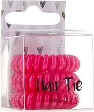 Parfums et Produits cosmétiques Lot de 3 élastiques à cheveux, rose - Cosmetic 2K Hair Tie Pink