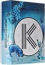 Parfums et Produits cosmétiques Kenzo Jeu d'Amour - Set pour femme (eau de parfum/50ml + lait crème pour corps/50ml + gel douche/50ml)