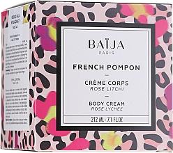 Parfums et Produits cosmétiques Crème pour corps, Rose et Litchi - Baija French Pompon Rose Litchi Body Cream