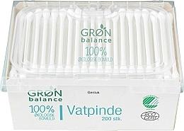 Parfums et Produits cosmétiques Coton-tiges bio pour enfants, 200 pcs - Gron Balance