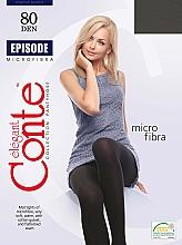 Parfums et Produits cosmétiques Collant pour femme, Episode, 80 Den, nero - Conte