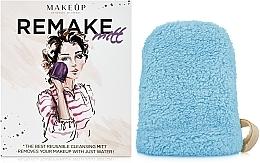 Parfums et Produits cosmétiques Gant démaquillant ReMake, turquoise, 15x12cm - MakeUp