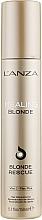 Parfums et Produits cosmétiques Sérum-crème à l'huile de rose musquée pour cheveux - L'anza Healing Blonde Rescue