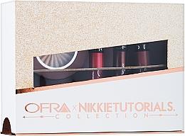 Parfums et Produits cosmétiques Coffret (rouges à lèvres liquides/3x6g + enlumineur/10g) - Ofra x Nikkie Tutorials Collection