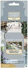 Parfums et Produits cosmétiques Désodorisant pour voiture, Jardin d'eau - Yankee Candle Car Jar Water Garden