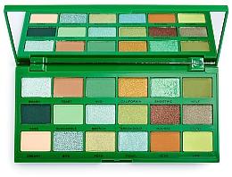 Parfums et Produits cosmétiques Palette d'ombres à paupières - Makeup Revolution I Heart Revolution Tasty Palette Avocado