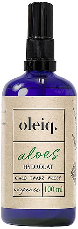 Hydrolat pour visage, corps et cheveux Aloe vera - Oleiq Hydrolat Aloe