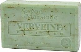 Parfums et Produits cosmétiques Savon de Marseille aux vraies feuilles de verveine - Le Chatelard 1802 Soap Verbena Leaves