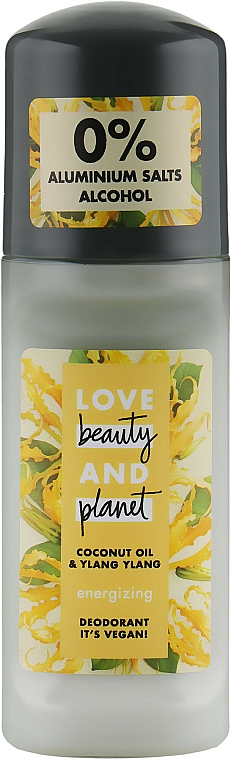 Déodorant roll-on - Love Beauty&Planet Deodorant Roller Coconut Oil And Ylang Ylang