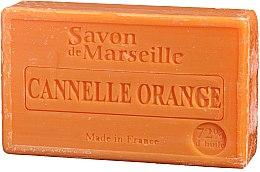 Parfums et Produits cosmétiques Savon de Marseille Cannelle et Orange - Le Chatelard 1802 Soap Orange & Cinnamon