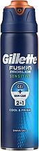 Parfums et Produits cosmétiques Gel de rasage au menthol - Gillette Fusion ProGlide Sensitive Cool & Fresh Shave Gel