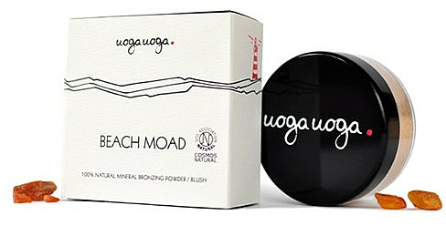 Uoga Uoga Beach Moad Bronzing Powder-blush - Poudre bronzante minérale 100% naturelle — Photo N1