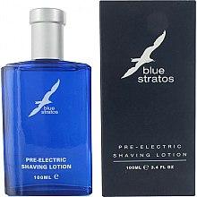 Parfums et Produits cosmétiques Parfums Bleu Blue Stratos - Lotion pré-rasage électrique