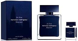 Parfums et Produits cosmétiques Narciso Rodriguez For Him Bleu Noir - Coffret Homme (eau de toilette/100ml + eau de toilette/10ml)