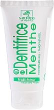 Parfums et Produits cosmétiques Gel dentifrice à l'huile de menthe des champs - Naturado Gel Dentifrice Bio Toothpaste Mint