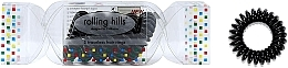 Parfums et Produits cosmétiques Élastiques à cheveux, noir - Rolling Hills 5 Traceless Hair Rings Cracker Black