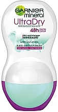 Parfums et Produits cosmétiques Déodorant roll-on - Garnier Mineral UltraDry Antiperspirant 48h Roll On