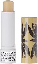 Parfums et Produits cosmétiques Baume à lèvres Aloès - Korres Lip Balm Extra Care Aloe Stick