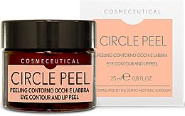 Parfums et Produits cosmétiques Crème à l'huile d'amande douce pour yeux et lèvres - Surgic Touch Circle Peel Eye Contour And Lip Peel