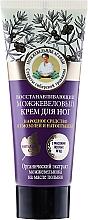 Parfums et Produits cosmétiques Crème au genièvre pour jambes - Les recettes de babouchka Agafia Juniper Repairing Foot Cream