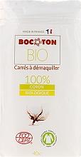 Parfums et Produits cosmétiques Carrés à démaquiller bio équitables, 75x75mm, 40pcs - Bocoton