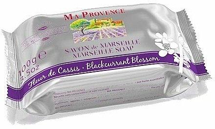 Savon de Marseille parfumé à la fleur de cassis - Ma Provence Marseille Soap — Photo N1