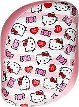 Parfums et Produits cosmétiques Brosse démêlante compacte Hello Kitty - Tangle Teezer Compact Styler Hello Kitty