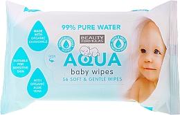 Parfums et Produits cosmétiques Lingettes nettoyantes à l'extrait de camomille - Beauty Formulas Aqua Baby Wipes