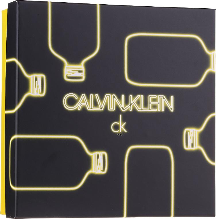 Calvin Klein CK One - Coffret (eau de toilette/100ml + gel purifiant pour corps/100ml)