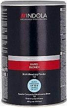 Parfums et Produits cosmétiques Poudre décolorante pour cheveux, bleue - Indola Profession Rapid Blond+ Blue Dust-Free Powder