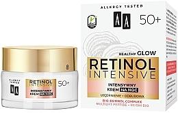 Crème de nuit au complexe de rétinol bio - AA Retinol Intensive Healthy Glow 50+ Night Cream — Photo N1