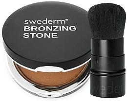 Parfums et Produits cosmétiques Swederm - Coffret (bronzer/13g + pinceau kabuki/1pcs)