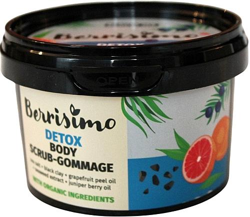 Gommage à l'extrait de pamplemousse pour corps - Berrisimo Detox Body Scrub-Gommage