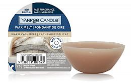 Parfums et Produits cosmétiques Cire parfumée pour lampe aromatique Cachemire délicat - Yankee Candle Wax Melt Warm Cashmere