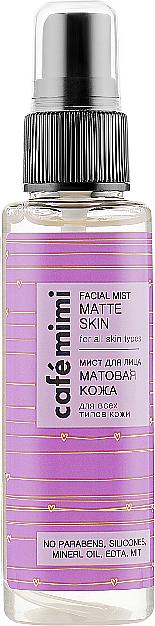 Brume matifiante pour visage - Cafe Mimi Facial Mist Matte Skin
